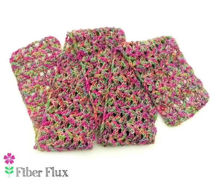 Crochet Tulip Tree Scarf Free Pattern