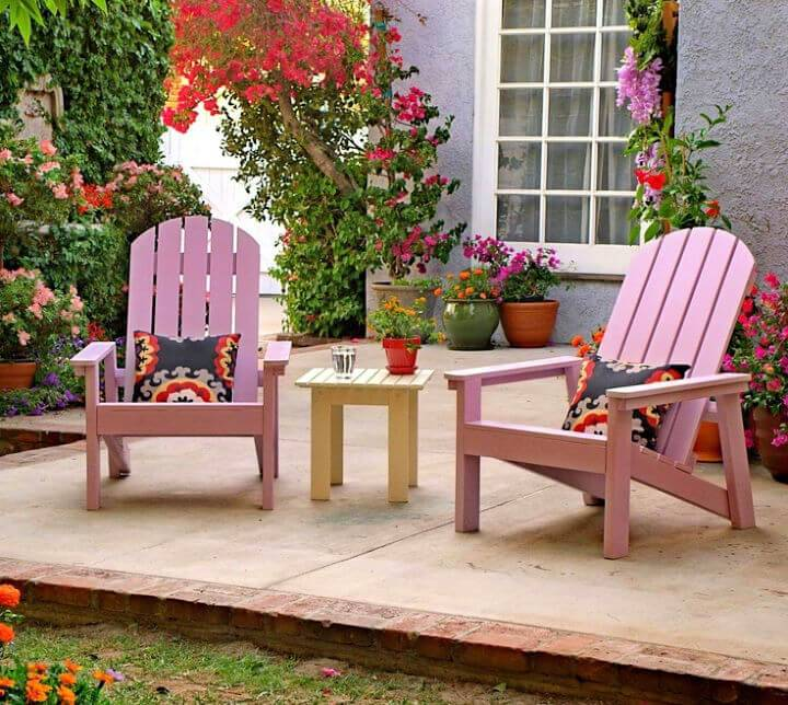 DIY 2x4 Adirondack Chair