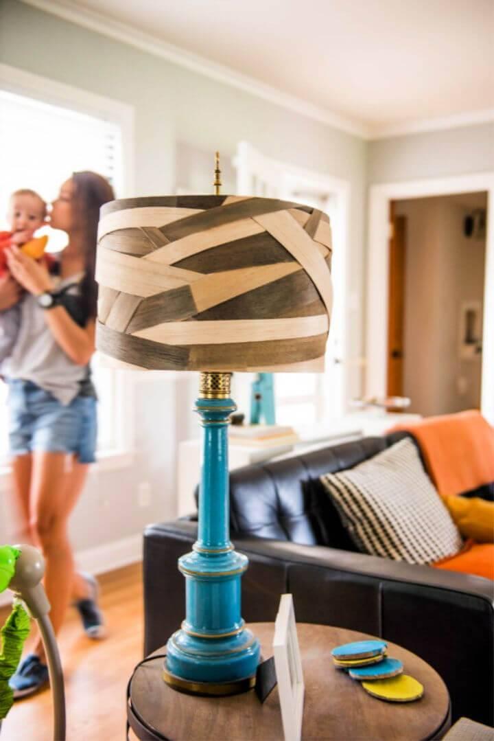 DIY Balsa Wood Lamp