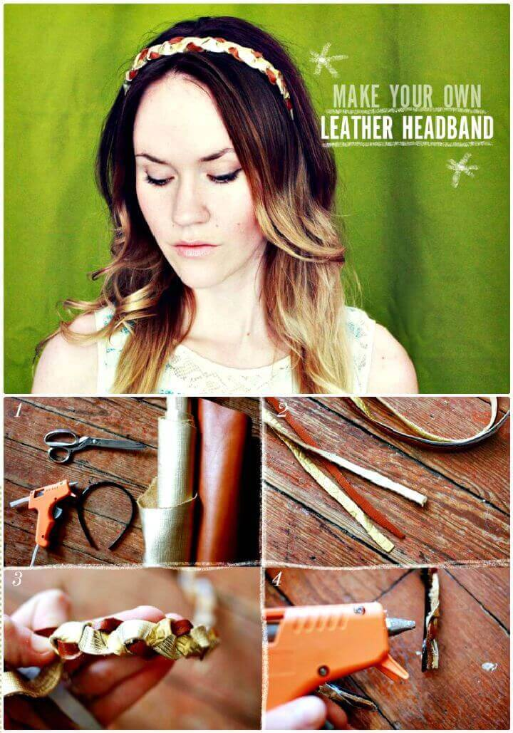 DIY Creat A Beautiful Headband
