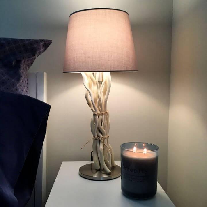 DIY Driftwood Lamps Ikea Hack