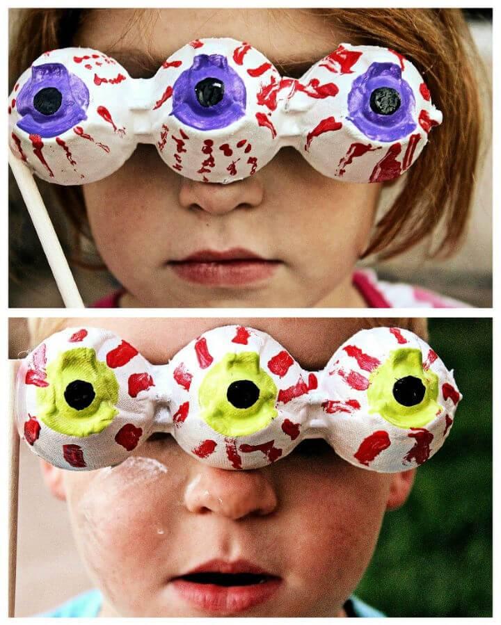 DIY Eyeball Photo Props