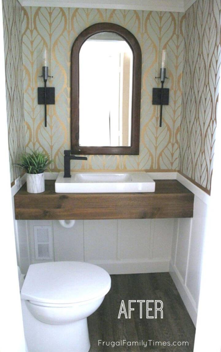 10 Diy Floating Bathroom Vanity Ideas You Can Make ⋆ Diy