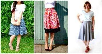 DIY Half Circle Skirt Patterns