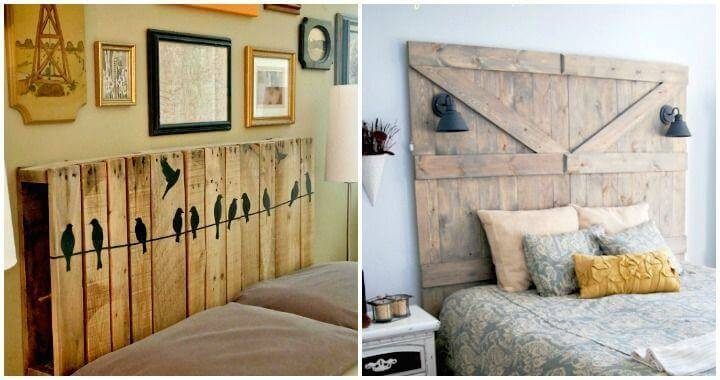 DIY Headboards Cheap and Easy DIY Headboard Ideas