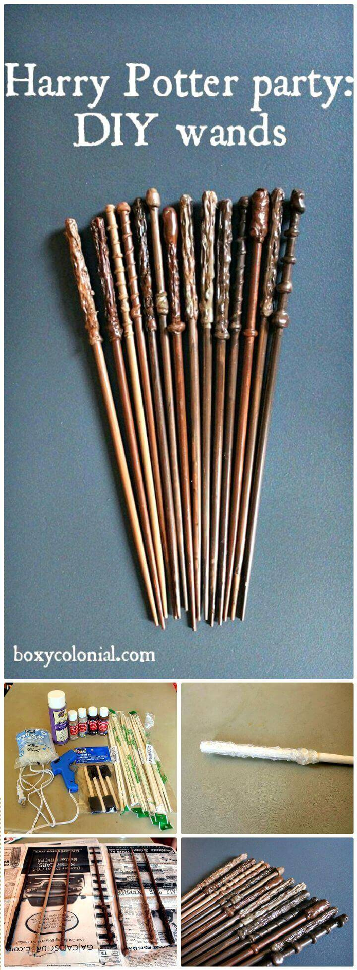 DIY Make A Harry Potter Wand