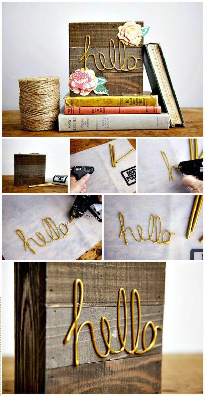 DIY Make a Decorative Sign
