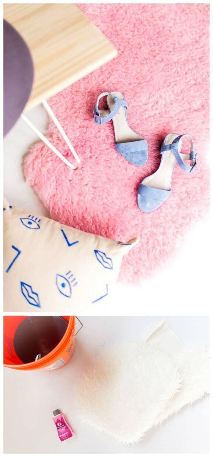 DIY Mini Rug