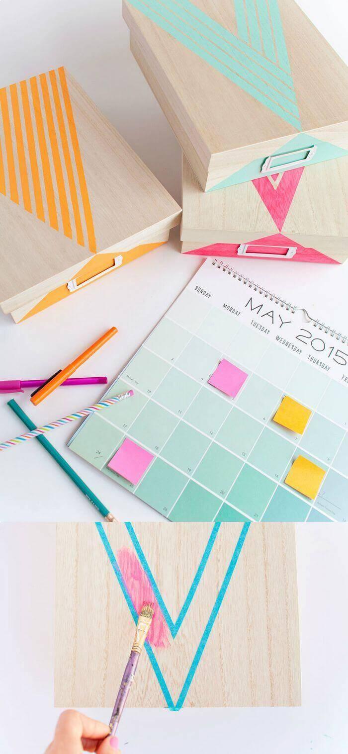DIY Painted Box