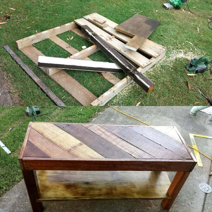 DIY Pallet Coffee Table OR TV Unit