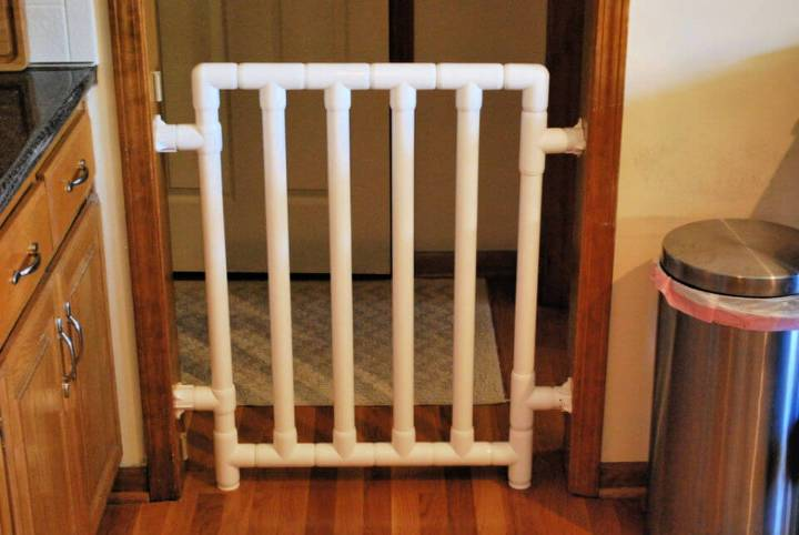 DIY Safe and Strong PVC Pipe Baby Gate