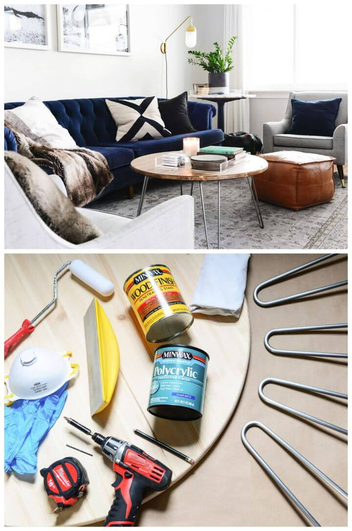 DIY a Hairpin Leg Coffee Table In 5 Steps