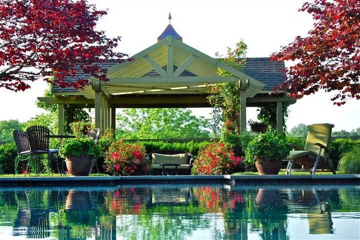 Designed Poolside Gazebo