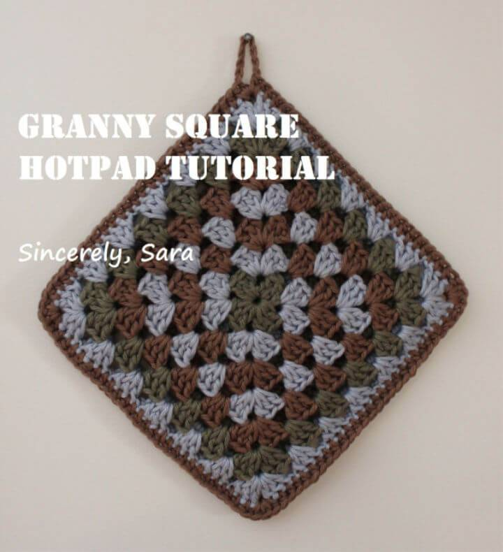 Easy Crochet Granny Square Free Pattern