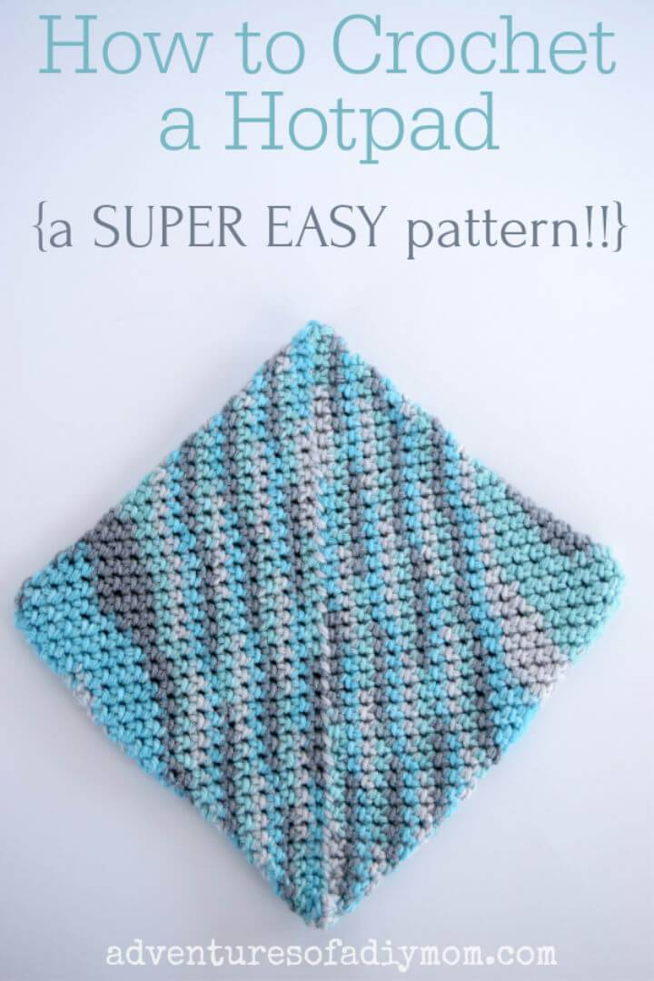 Easy Crochet Hot Pad Free Pattern