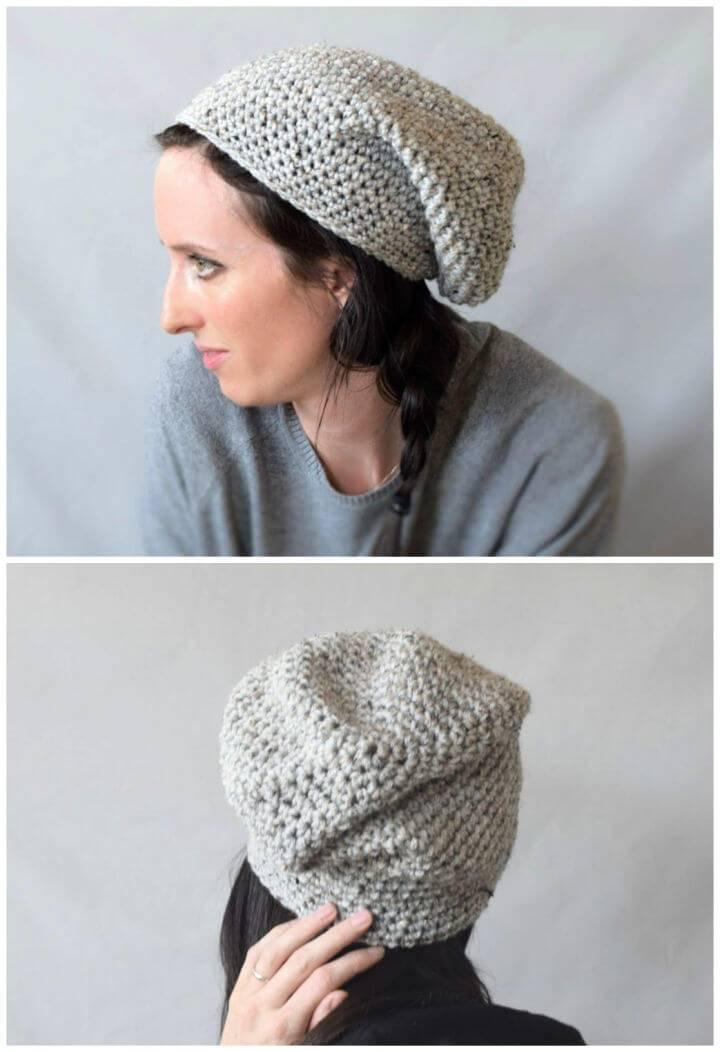 Easy East Village Slouch Free Crochet Pattern