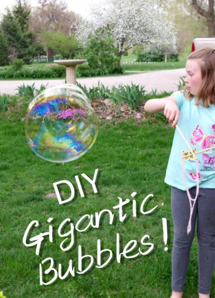 Epic Gigantic Bubbles Recipe