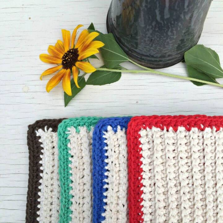 Extra Thick Hot Pad Free Crochet Pattern