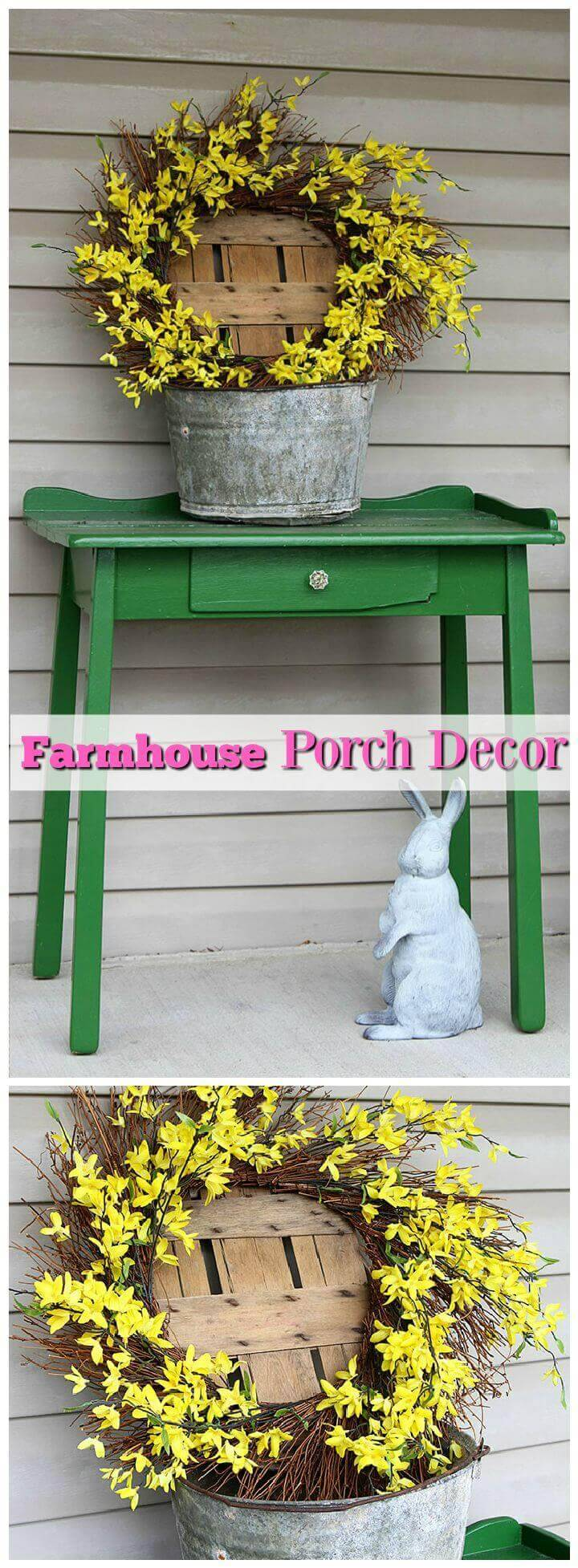 Farmhouse Porch Decor