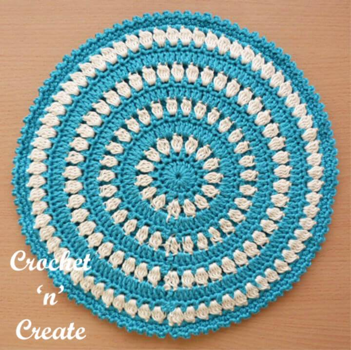 Free Crochet Hot Pad Pattern