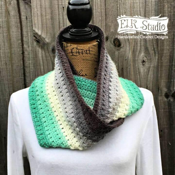 Free Crochet Mandala Scarf Pattern
