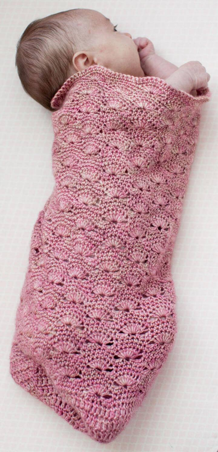 Free Crochet One Skein Snuggly Wave Cocoon Pattern