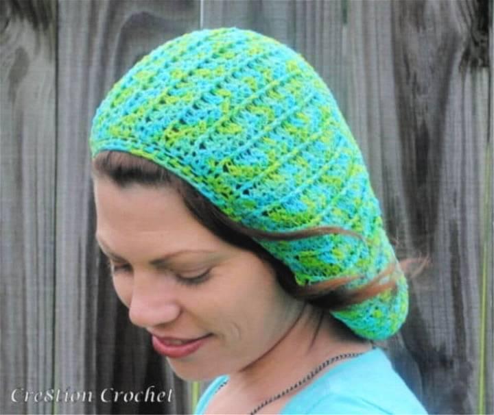 Free Crochet Sea Breeze Summer Slouch Pattern