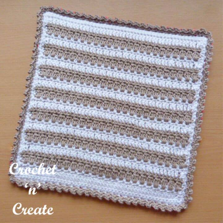 Free Crochet Square Hot Pad Pattern
