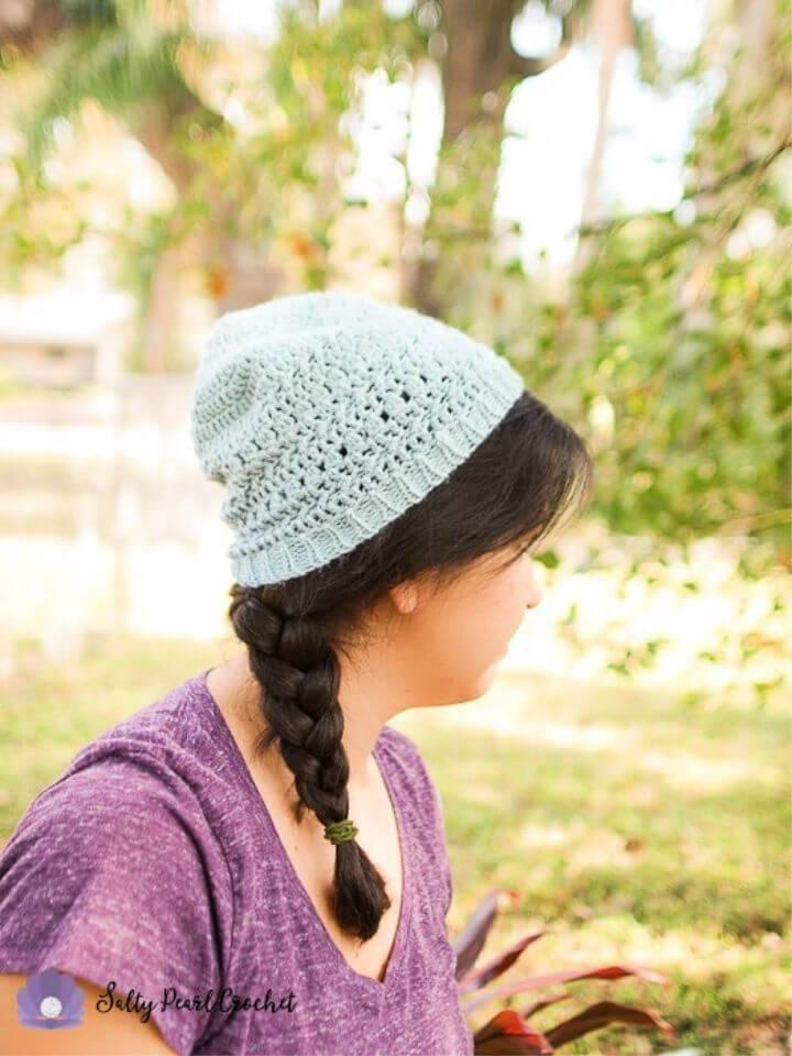 Free Crochet Textured Beanie Pattern
