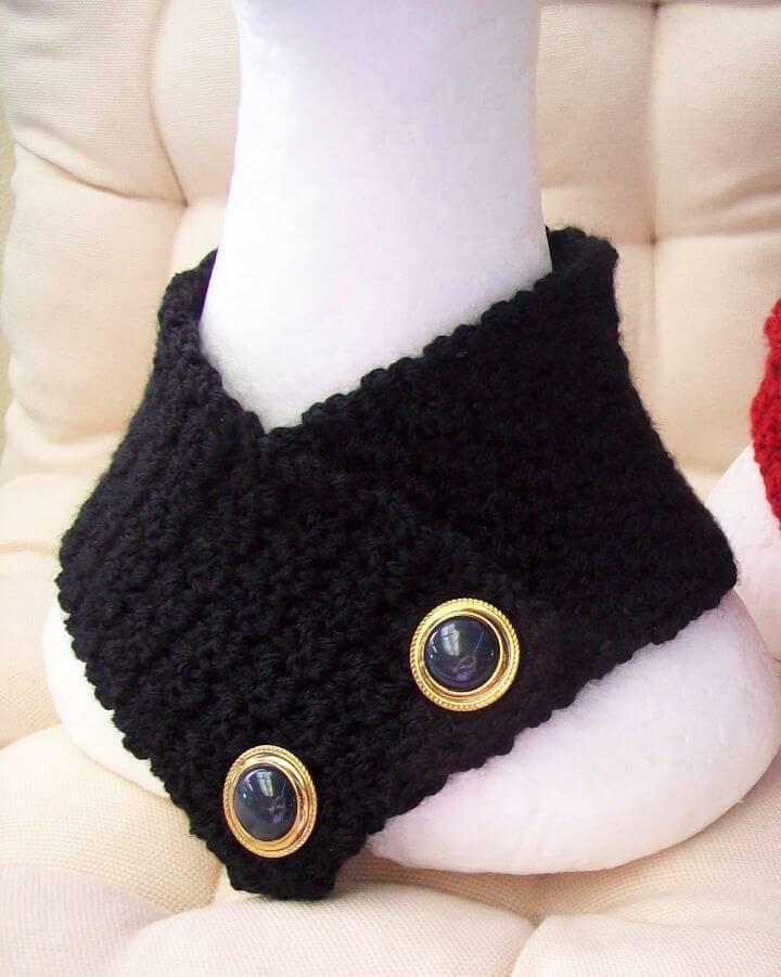 Free Crochet Which Stitch Neck Warmer Pattern