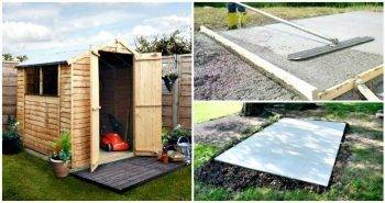 How to Build Concrete Slab for Shed 5 Best Step by Step Tutorials
