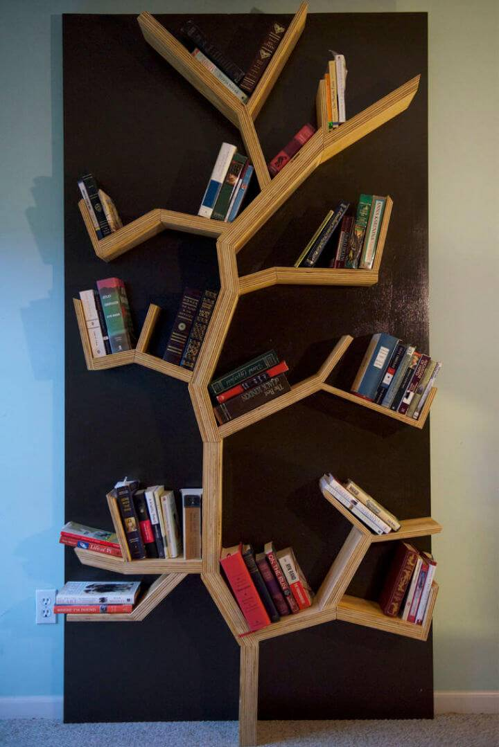 How to Build Tree Bookshelf