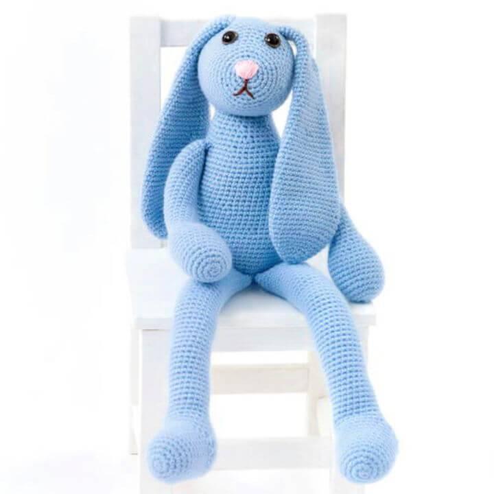 How to Crochet Blue Bunny