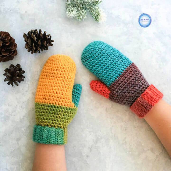 How to Crochet Chroma Mittens