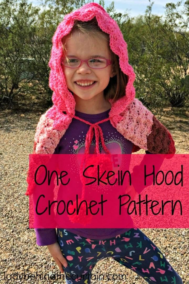 How to Crochet Hood for Kids