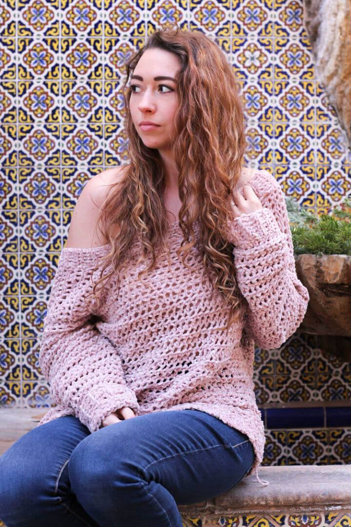 How to Crochet Kelby Sweater