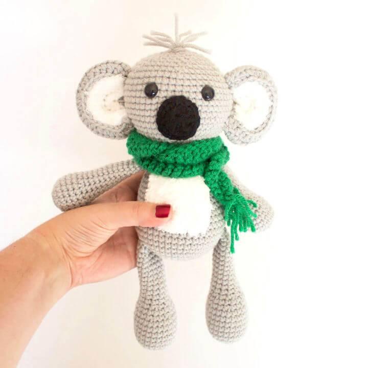 How to Crochet Koala Amigurumi 1