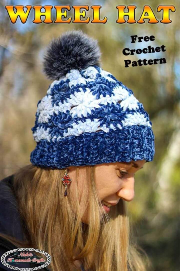 How to Crochet a Velvet Hat