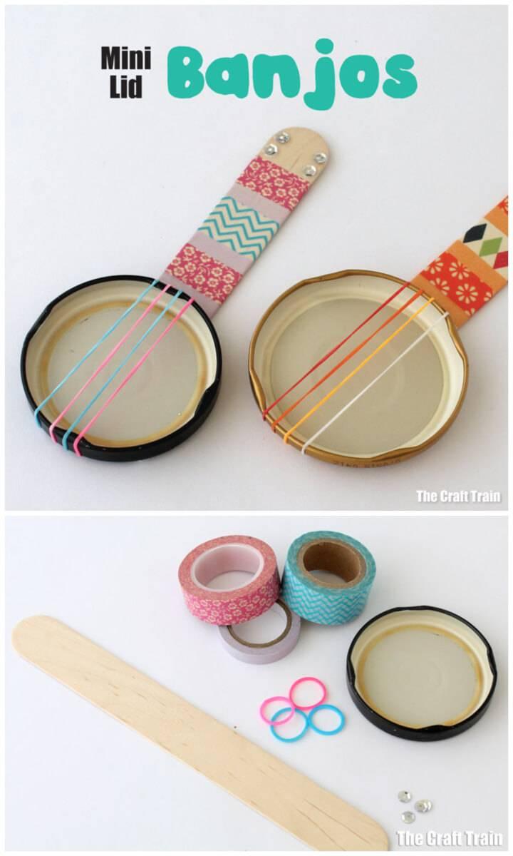 How to Make Mini Lid Banjos