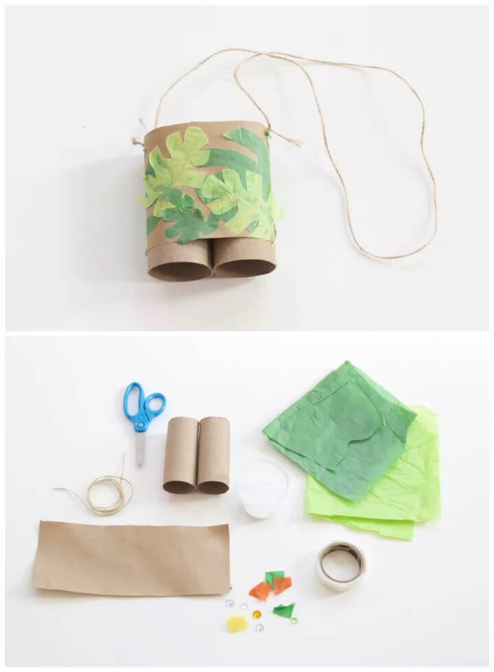 How to Make Toilet Paper Roll Binoculars