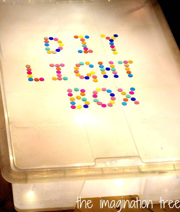 Light Box for Sensory Play