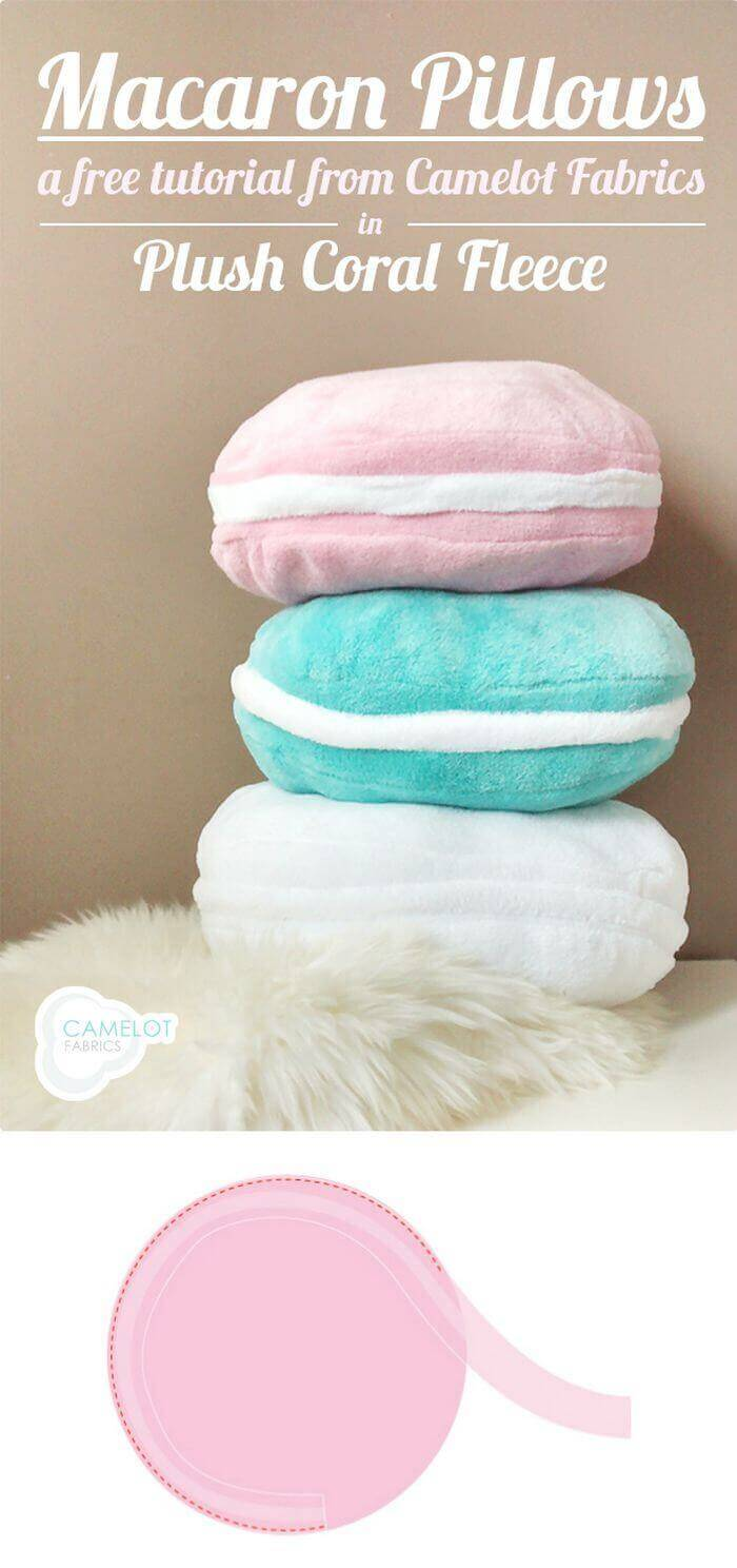 Macaron Pillows Tutorial