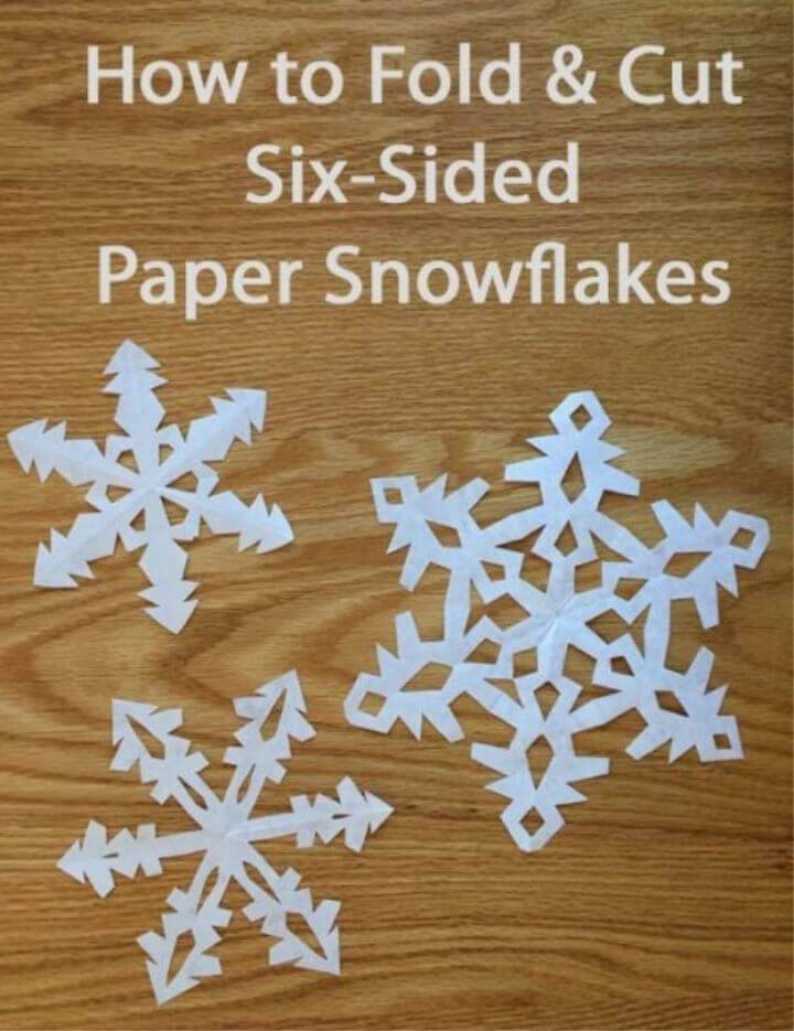 Make 6 sided Snowflakes