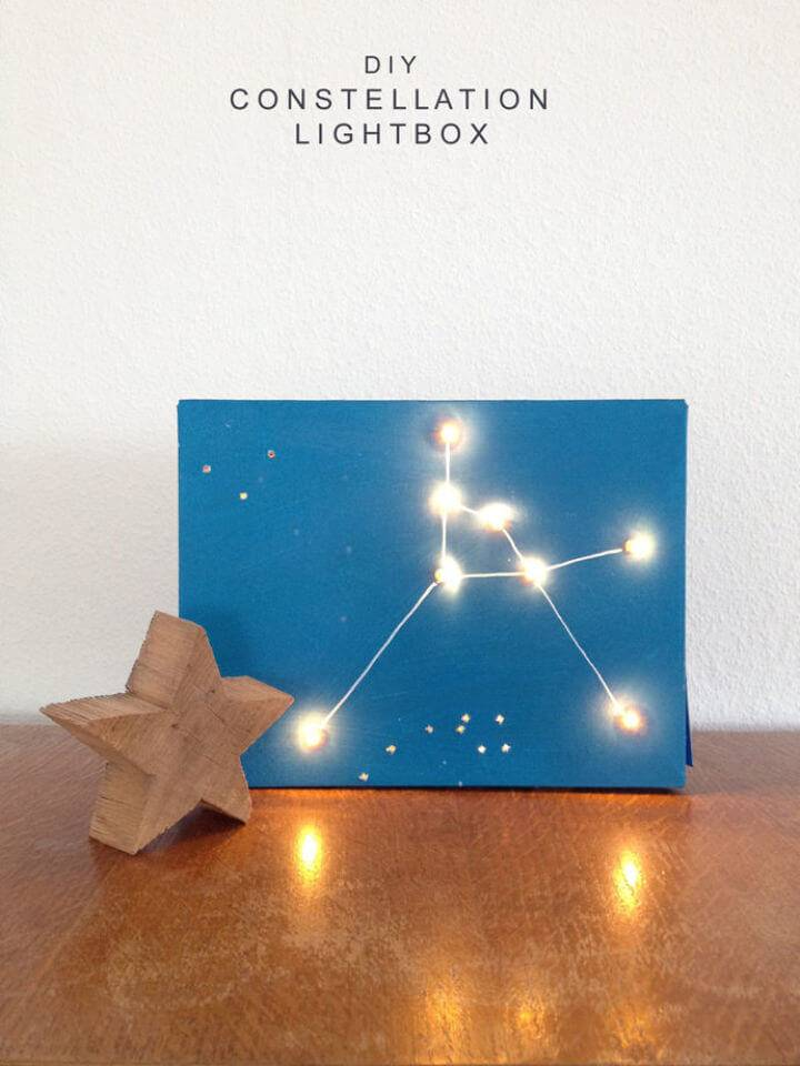 Make Constellation Light Box