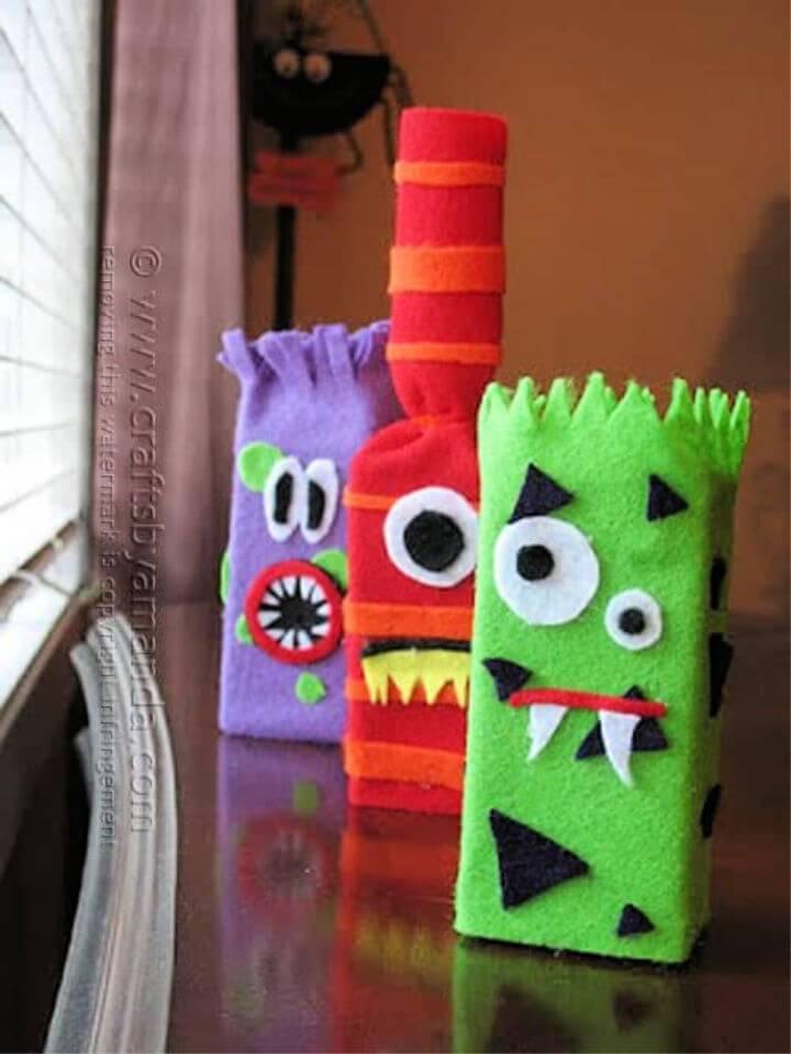 Make Juice Box Monsters