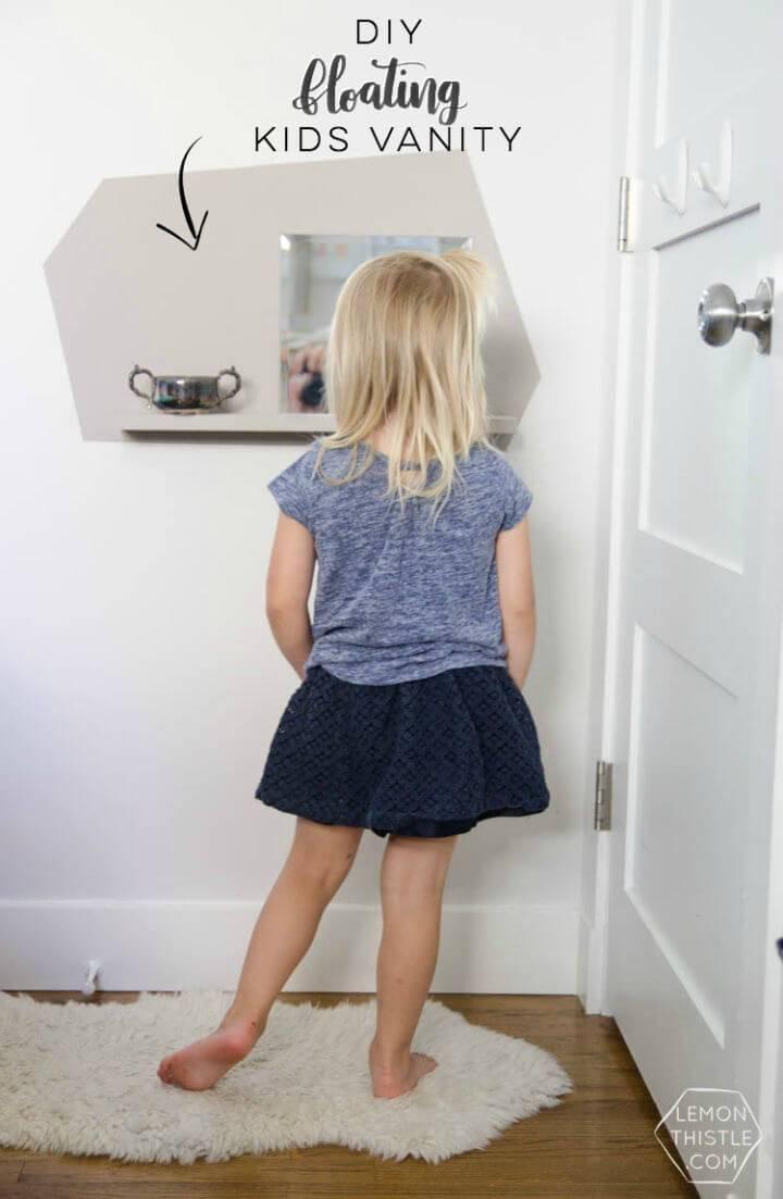 Make Kids Floating Vanity