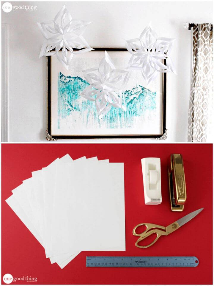 Make Paper Snowflakes – 2 Different Ways