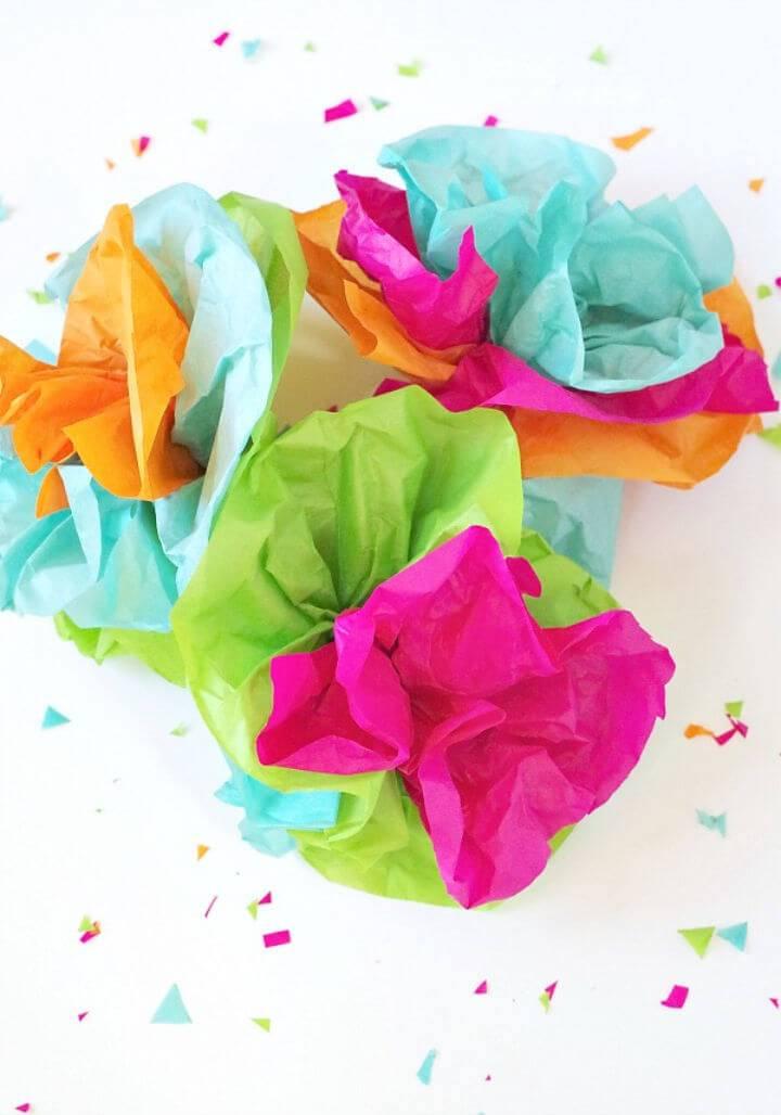 Make Tissue Paper Fiesta Flowers