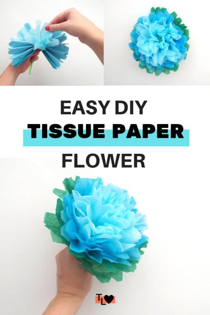 Make Tissue Paper Flowers
