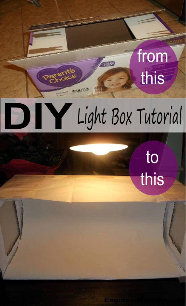 Make Your Own Light Box